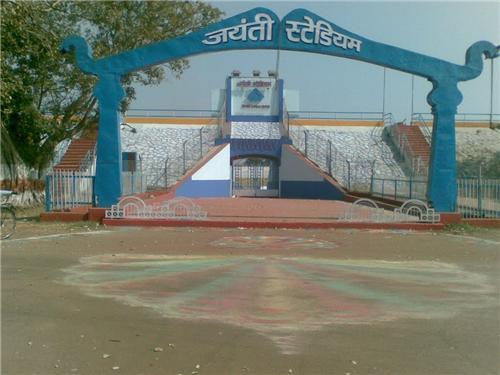 Stadiums in Bhilai