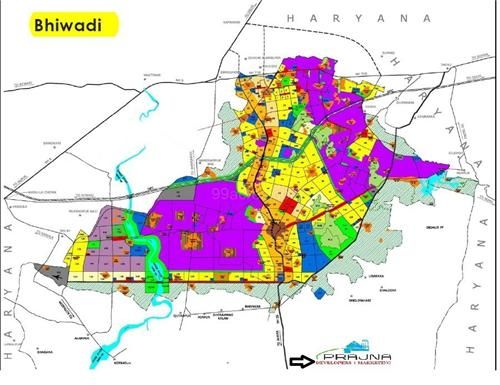 Localities or Areas in Bhiwadi