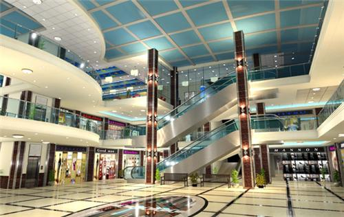 Interiors of City Mall Bhiwani