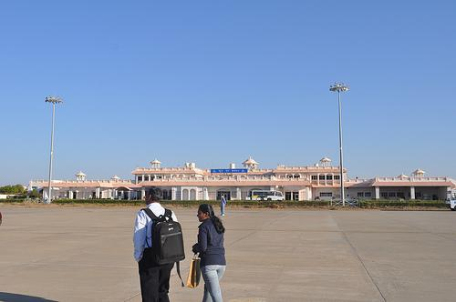 At the Bhuj Airport