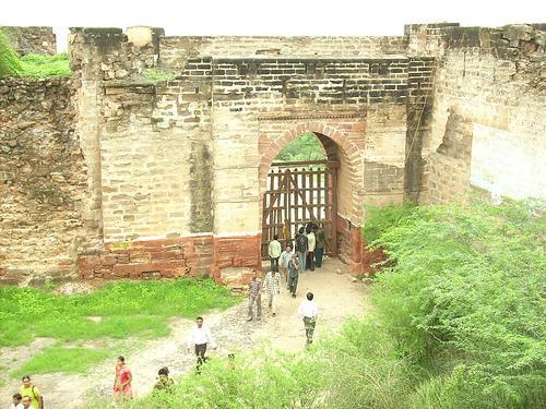 Bhujiya Hill Fort in Bhuj