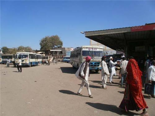 Bus Stands in Bhuj