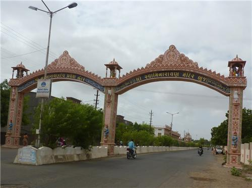 Roads in Bhuj
