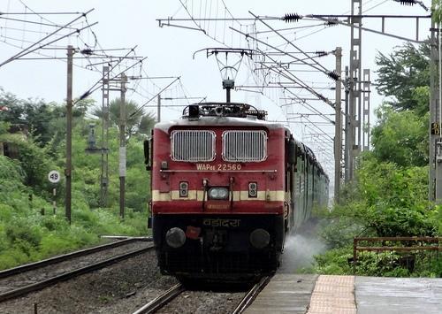 Trains Passing Through Bhuj Railway Station