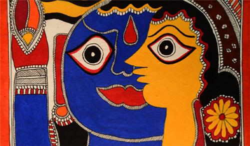 Mithila Paintings in Bihar