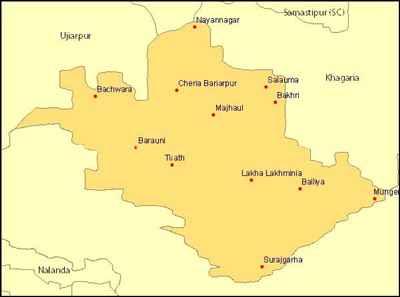 Geography of Begusarai