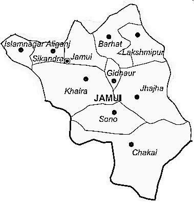 Jamui geography