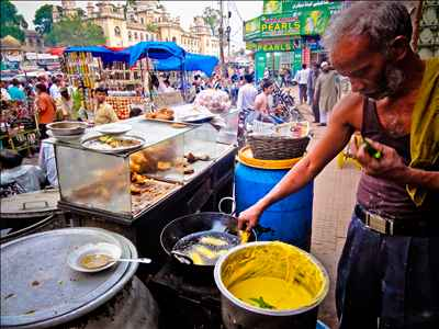 Street food in jamui