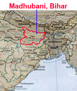 Information on Madhubani