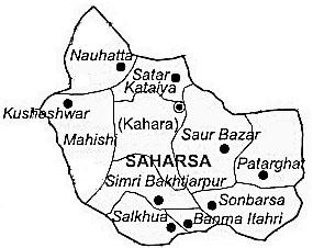 Geography of Saharsa