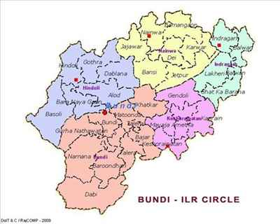 Geography of Bundi