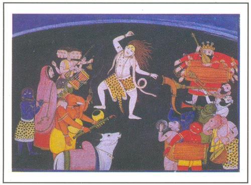 Miniature Painting of Chamba