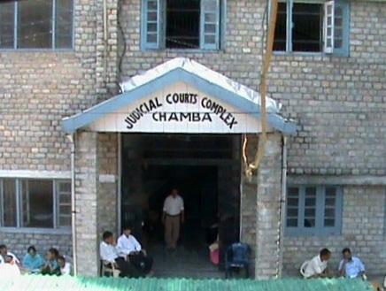 Court in Chamba