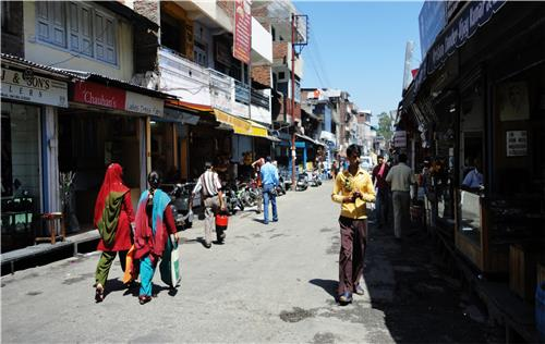 Streets in Chamba