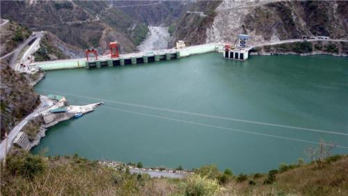 Chamera Dam near Chamba