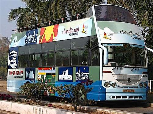 Double Decker Bus from Chandigarh Tourism
