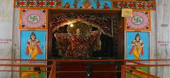 The idol at Chandi Temple of Chandigarh
