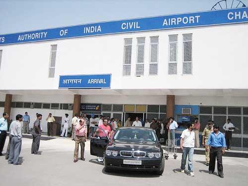 The Chandigarh Airport