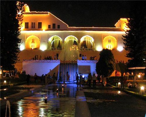 Pinjore Gardens in Chandigarh