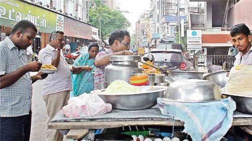 Burmese Food Cart