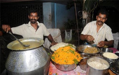 Burmese Food Cart Noodles