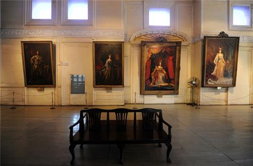 Inside Fort Museum in Chennai