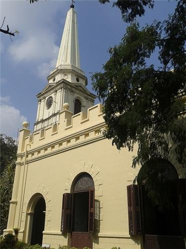 St. Mary's Church in Fort St. George in Chennai