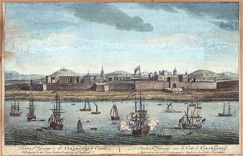 Fort St George Painting