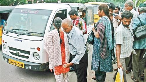Share Autos in Chennai City