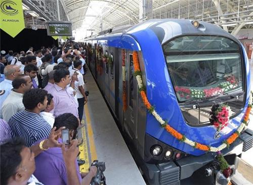 Inauguration of Chennai Metro Rail Transport