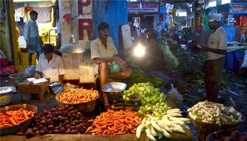 Vegetable Block in Koyambedu