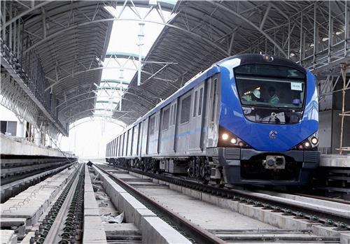 Metro Trains in Chennai