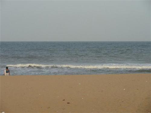 Golden Beach in Chennai