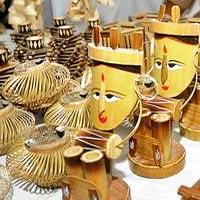 Wooden work in Chhattisgarh