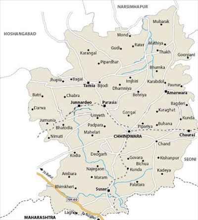 Geography of Chhindwara