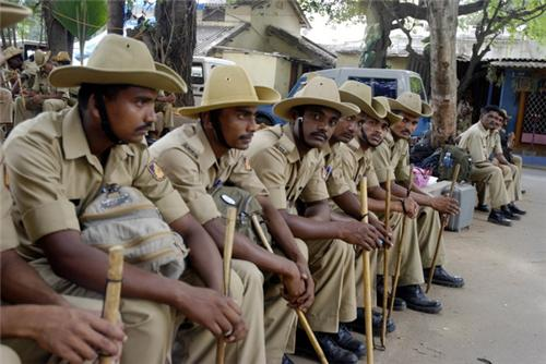 Police in Chikmagalur