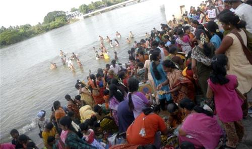 Aadi Perukku Celebration in Trichy