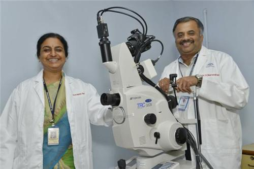 Equipments at the Aravind Eye Care System