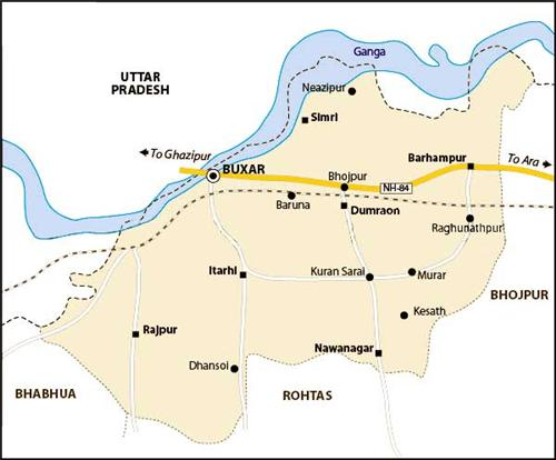 Geography of Buxar