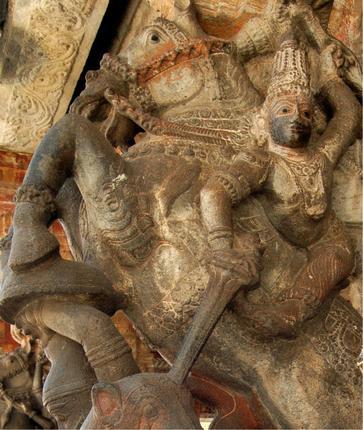 Architecture of Kothandaramar Temple, Salem