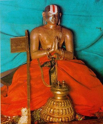 Ramanuja Shrine at Woraiyur Azhagiya Manavalan Temple