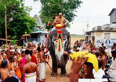 Jestabishekam Ritual in Srirangam