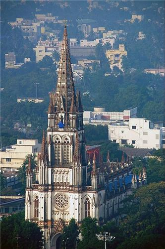 St lourdes Church Trichy