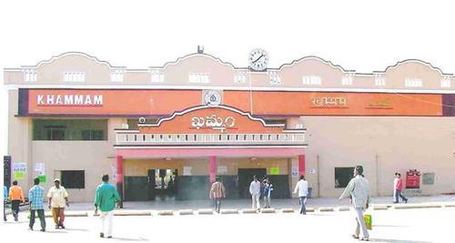 Railways in Khammam