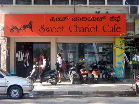 Sweet Chariot in Bangalore