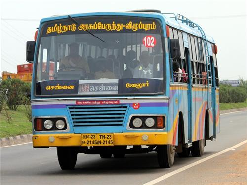 Bus in Vellore