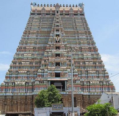 Srirangam Temple Tower