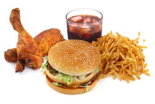 Fast Food in Vrindavan