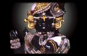 Deity at Radha Raman Temple