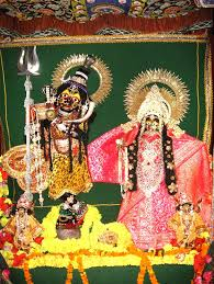 Deities at Radha Shyam Sundar Temple